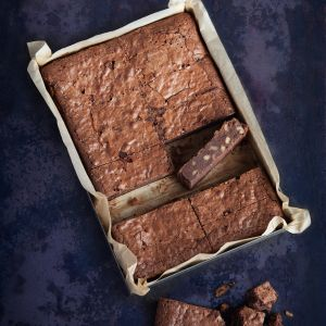 Chocolate Brownie with Walnuts (Gluten Free)
